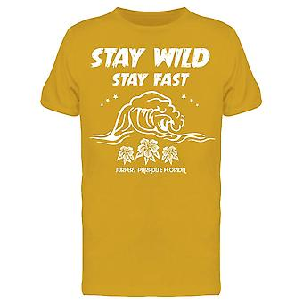 Stay Wild And Fast Tee Men's -Image par Shutterstock