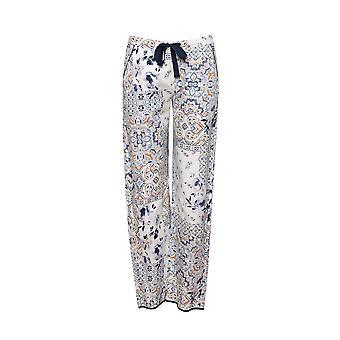 Cyberjammies Alexa 4505 Kvinnor's White Mix Patch Print Pyjama Pant