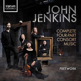 Jenkins / Fretwork - Complete Four Part Consort Music [CD] USA import