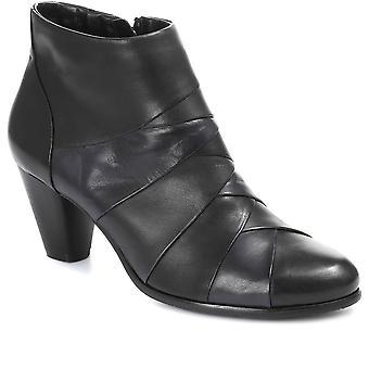 Regarde Le Ciel Femmes Patchwork Cuir Ankle Boot