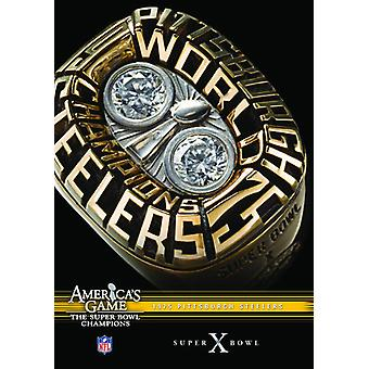 NFL America's Game: 1975 Steelers (Super Bowl X) [DVD] USA import