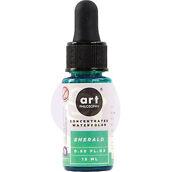 Art Philosophy Concentrated Watercolor Emerald