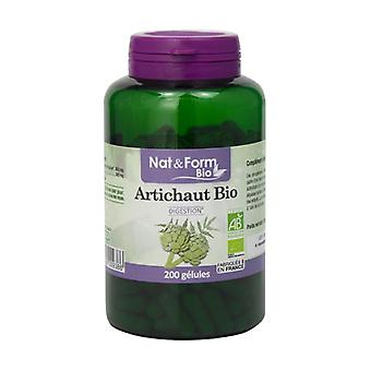 Organic artichoke 200 vegetable capsules
