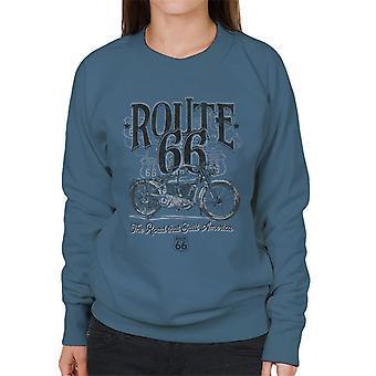Route 66 Building America Women's Sweatshirt