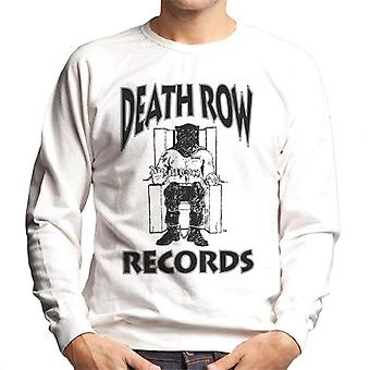 Death Row Records stoel Logo Black mannen Sweatshirt