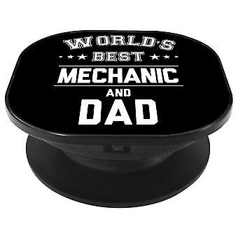 Melhor mecânico do mundo e aperto de telefone do pai