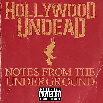 Hollywood Undead - Notes From the Underground [CD] USA import
