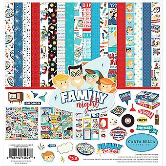 Carta Bella Familie Night 12x12 Tommer Collection Kit
