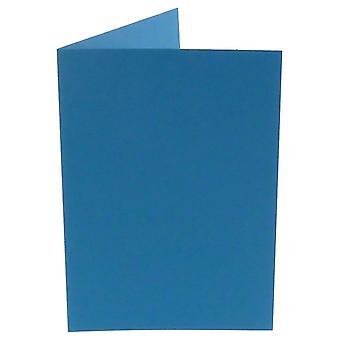 Papicolor Mais blau A6 Doppelkarten