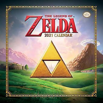 The Legend Of Zelda Calendar 2021
