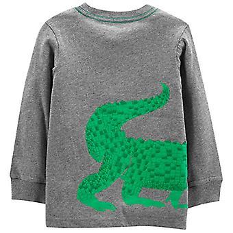 Einfache Freuden von Carter's Boys' Kleinkind 3-Pack Grafik Langarm-T-Shirt, Crocod...