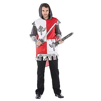 Rycerze mężczyzn kostium Pan średniowiecznego karnawału