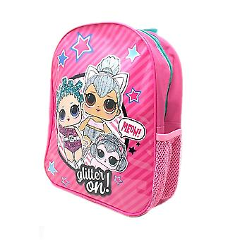 Lol Surprise! Childrens/Kids Glitter On Backpack