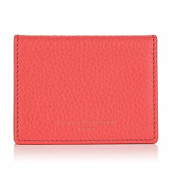 Jaipur Pink Richmond Leather Travel Card Holder