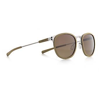 Sunglasses Unisex Skill silver/green-brown (002)