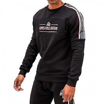 Kings Will Dream Bockley Crew Neck Black Sweatshirt