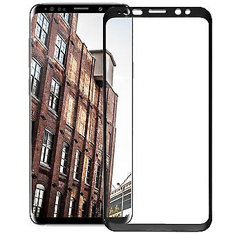 1x Full Cover for Samsung Galaxy S9 Glass Strong Protection Screen Protective Glass Black