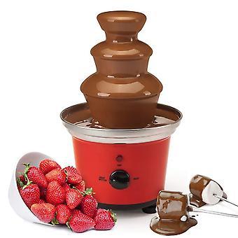 Global Gourmet Belgian Chocolate Fountain Fondue Large Set | 500ml Capacity
