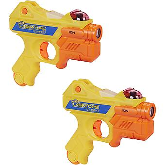 Nerf Blaster Laser Ops Classic 2 Pack Of Lazer Blasters