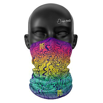 Groovy Baby Colours Snood Face Mask Scarf Neckerchief Head Covering Tube Buff