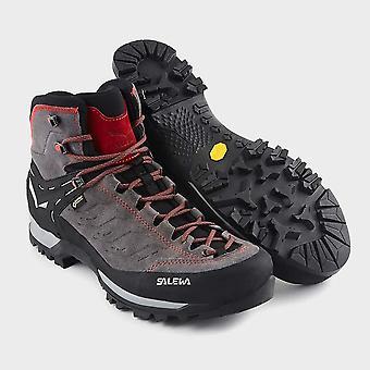 Nouveau Salewa Men-apos;s Mountain Trainer Mid GORE-TEX Shoe Brown