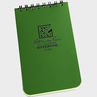 """New Rite Pocket Notebook (3"""" x 5"""") Green"""