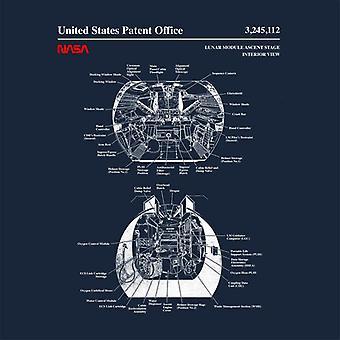 NASA Lunar Module Nousu Stage Sisäsuunnitelma Eristetty ruostumattomasta teräksestä valmistettu vesipullo