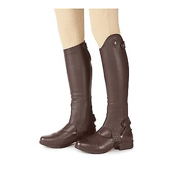 Shires Moretta Adults Leather Gaiters - Brown