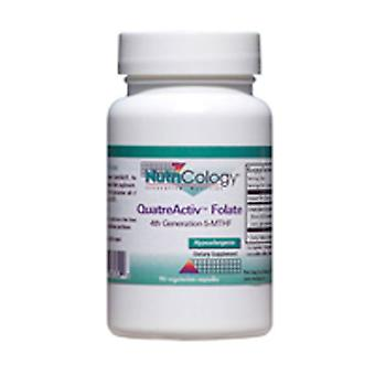 Nutricology/ Allergy Research Group QuatreActiv Folate, 90 vcaps