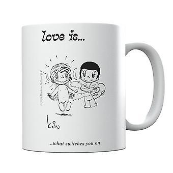 El amor es lo que te cambia en la taza