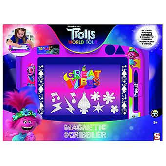 Trolde World Tour Medium Magnetisk scribbler