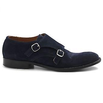 Pawelk's Blue Suede Double Buckle Shoe