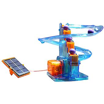 Ball Moving! Creative Solar Toys Assembled Scientific Experiments Favorite