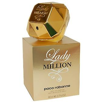 Paco Rabanne Lady miljoonaa Eau de Parfum Spray 80ml