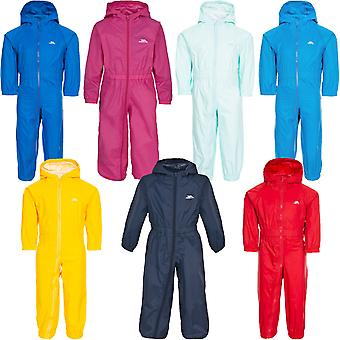 Trespass Младенцы Младенцы Кнопка Водонепроницаемый Дышащий puddle костюм дождь костюм