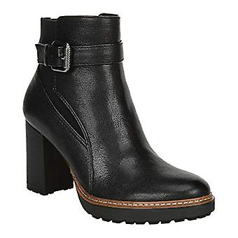 Naturalizer Women's Cora Ankle Boot, Black Sy, 8 M