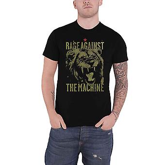 Rage Against The Machine T Shirt Pride Band Logo new Official Mens Black