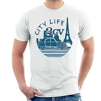 Citro?n 2CV City Life Paris For Light Men's T-Shirt