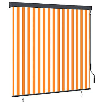 vidaXL outer roller 170x250 cm white and orange