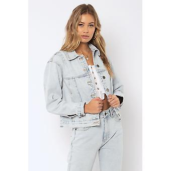 Amuse society kat denim jacket