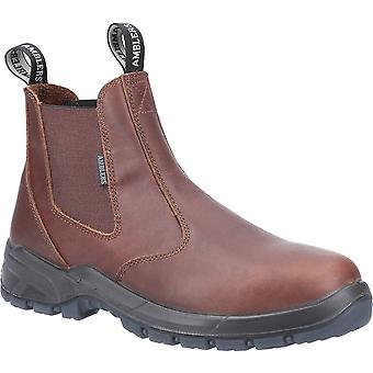 Amblers Mens Ardwell Occupational Pull On Dealer Boots