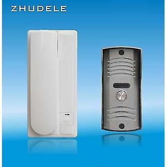 Security Audio Intercom System - Tür Telefon / Audio Türklingel, Entsperrfunktion