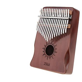 17 Key Kalimba Single Board - Peukalopiano