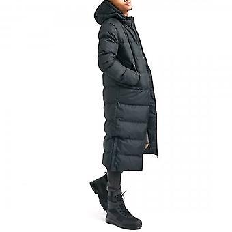 Soul Star Pineapple 20 Extra Longline Puffer Coat Black