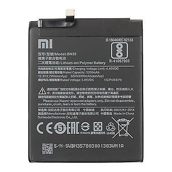 BN35 3200mAh ليثيوم بطارية للبوليمر لA xiaomi Redmi 5