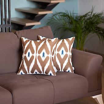 """Throw Pillow Cover Square 18"""" (set Of 2)"""