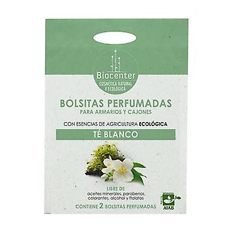 Ecological bags for the wardrobe White tea 2 units of 10g