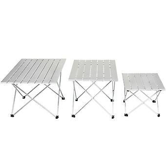Aluminum Alloy Portable Ultralight Folding Camping Table Foldable Outdoor Dinner Desk For Family Party Picnic BBQ