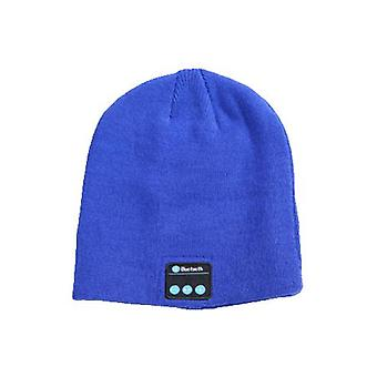 Wireless Call Bluetooth Knitted Hat Winter Outdoor Warm Music Hat With Stereo Speakers
