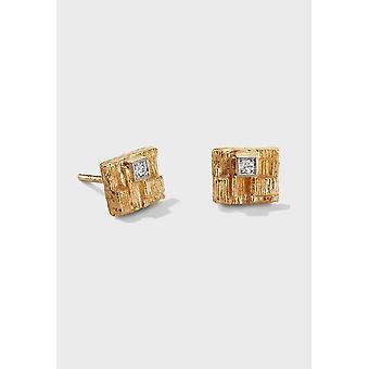 Kalevala Earrings Women Thai 14K Gold Diamonds 1651531TIT